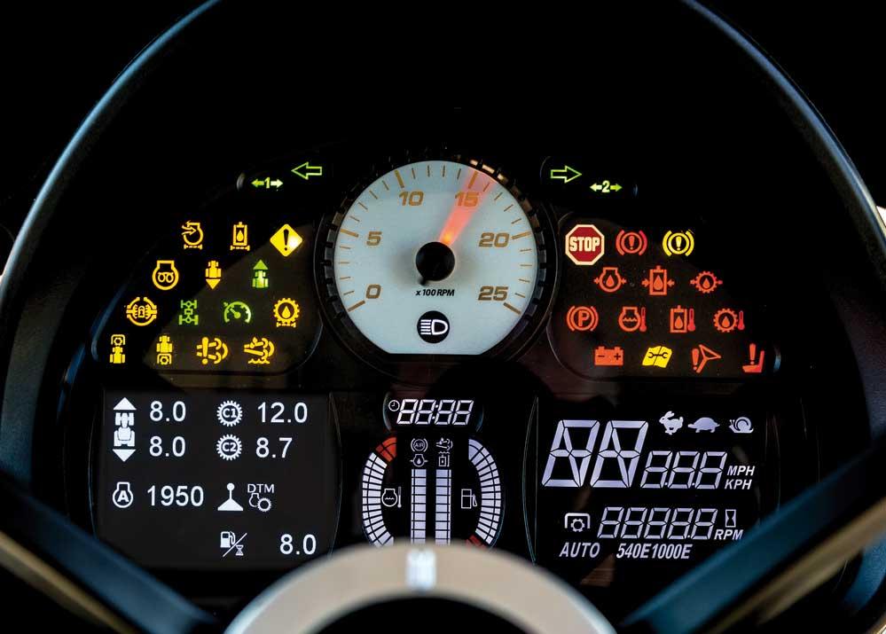 Massey Ferguson 5709 S Dyna-4 mittaristo